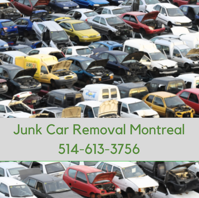 Junk Car Removal Montreal - CALL (514) 613-3756 for CASH $$$